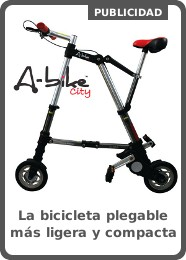 A-bike city, la bicicleta plegable ligera y compacta